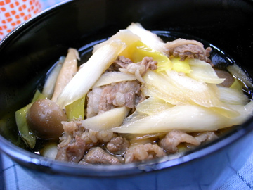 山形の芋煮汁