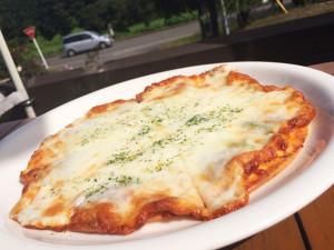 チーズシェッドのピザ
